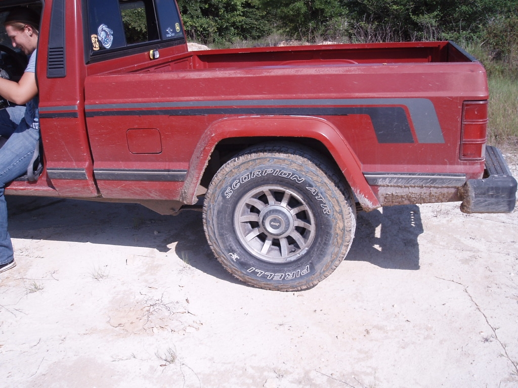 Btm24 1989 Jeep Comanche Regular Cab 14500727