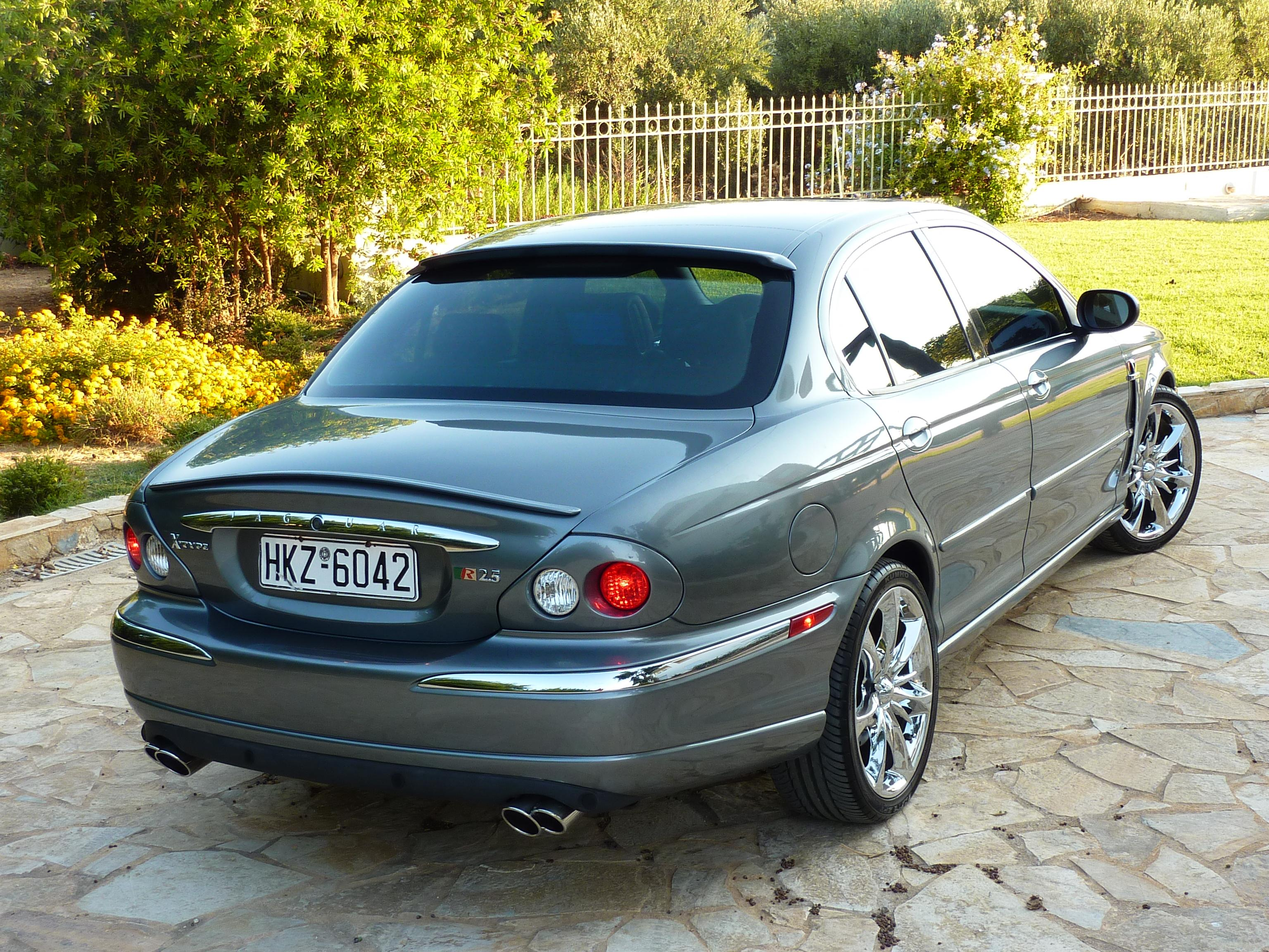 greyjagswag 2003 jaguar x type2 5l sedan 4d specs photos modification info at cardomain. Black Bedroom Furniture Sets. Home Design Ideas