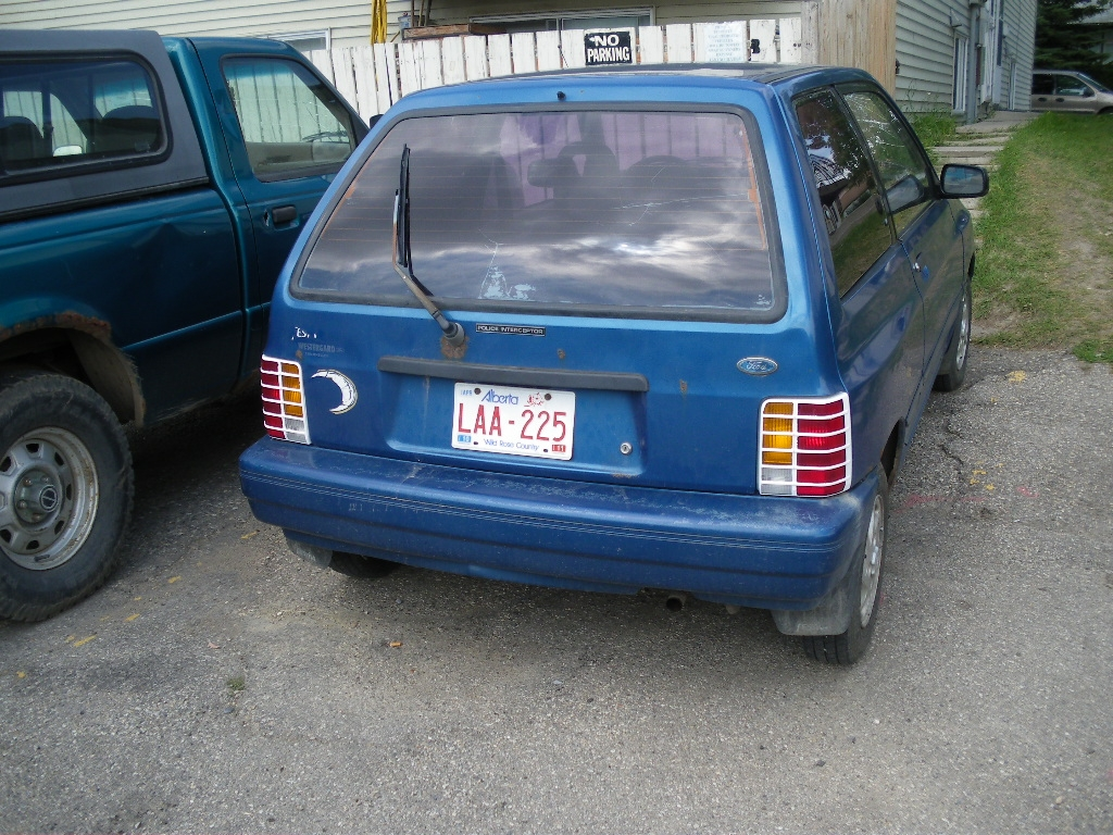 ReZurrection 1991 Ford Festiva 14592230