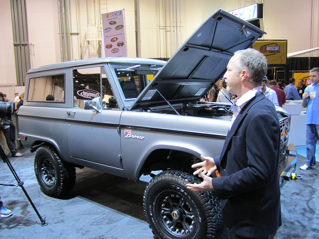 2016 Ford Bronco In the ford booth and he